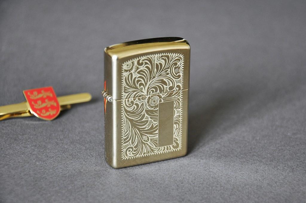 Zippo Brass Venetian Pipe Lighter