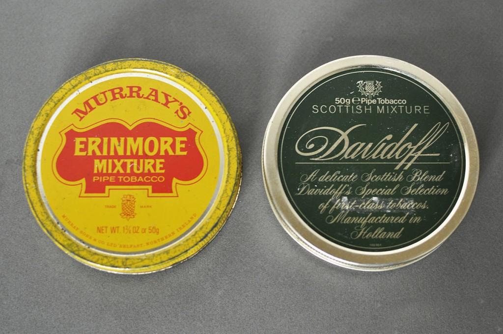 Erinmore plus Davidoff Scotish Mixture