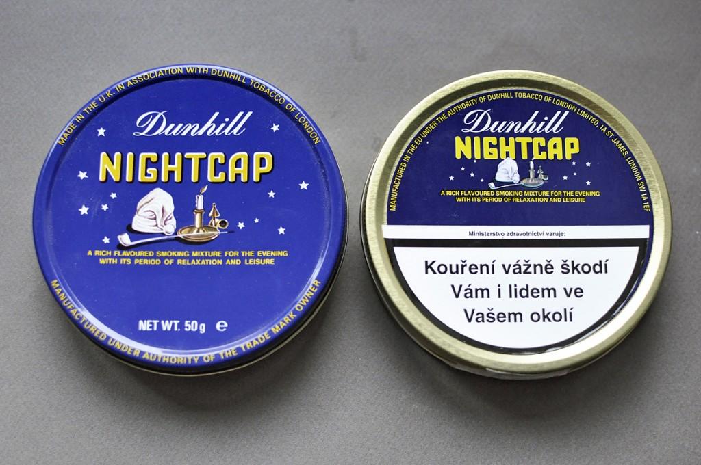 Plechovky Nightcap