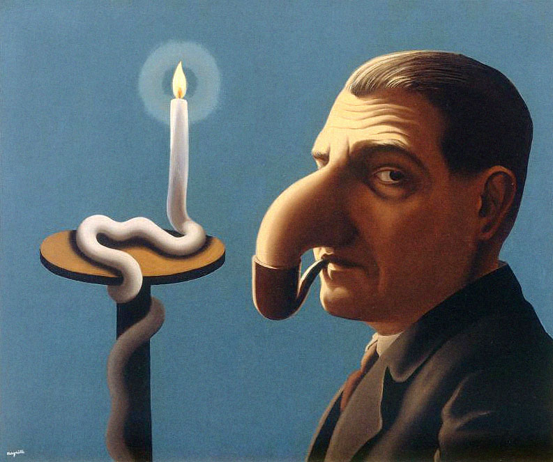 René Magritte: Filosofova lampa